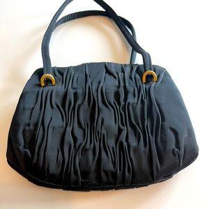 Lou Taylor Vintage Black Handbag/Clutch